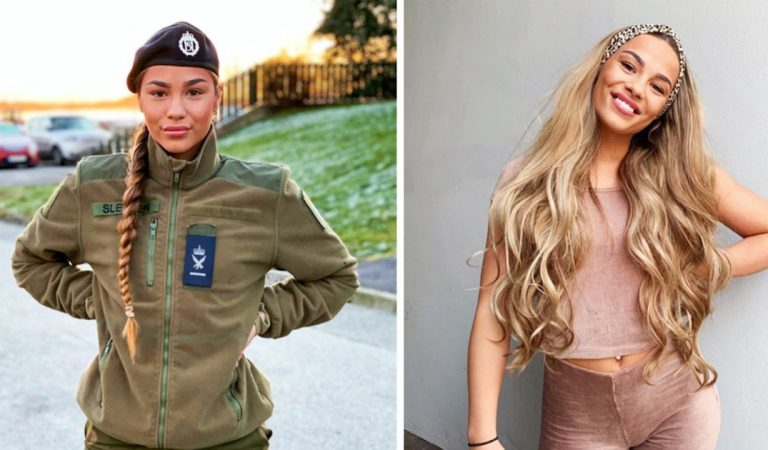 10 Gorgeous female soldiers who rock both in and out of uniform (20 pics)